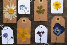 Dry flower art