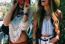Festival Ready / Boho-inspired festival fashion both on trend and comfortable for outdoor festivals like Coachella and beyond!