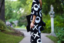 Florals and Royals / prints and solids, done right