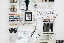 Sewing spaces ideas
