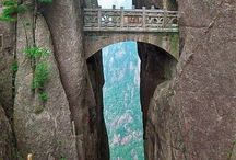 bridges, steps, walkways