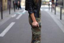 Spodnie w khaki