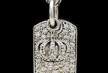 925 Sterling Silver dog tag