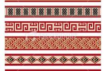 Springlands Mural Cultural Patterns