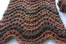Étole écharpes tricot