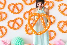 backdrops + party props