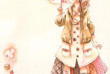 Sketsa Girl -END / girl