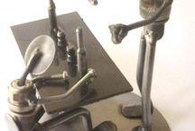 Metal heykeller