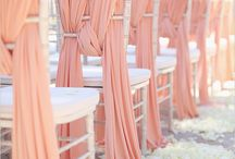 Chiavari chair decoration
