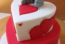 torty / dekoracje tortów styl angielski