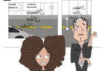 Curly kinky hair business