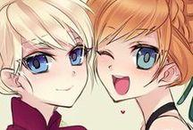 Princesas como animes