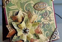 Cards...Christmas...Birds, Flowers & Deer