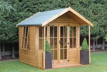 Log Cabins & Summerhouses / Our favourite selection of Log Cabins and Summerhouses, perfect for creating a tranquil area within your garden. View the range online at: https://www.gardensite.co.uk/garden-buildings/