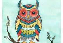 Owl / by Yulia Litvinova