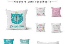 Personalized Nursery Pillows