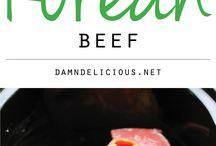 Korean Recipes / Beef