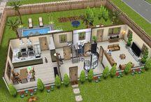Spill hus