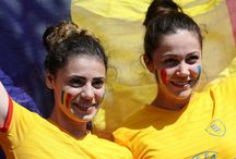 Romania Fans Girls