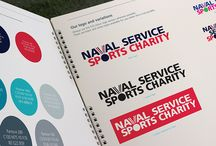 Our Work - Naval Service Sports Charity - Brand identity / Bold identity enables charity to get involved in larger scale projects