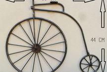 Sepeda pot bunga