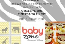 All Things Animal! / Everything animal-related for nursery, baby shower, and baby birthday party inspiration! / by BabyZone