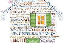 Susan Branch Illustrations