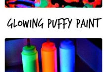 Puffy paint / Paint