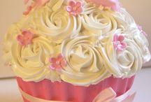 Cupcakes gigantes y más...