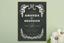 Wedding invitations / by Sierra Fisher