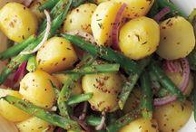 Salata de cartofi cu pastai