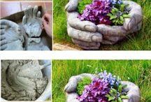 Plante și decorațiuni grădina