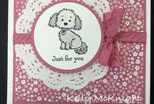 Doggie & Kittie stamps