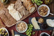 Cheese & Wine / cheese boards