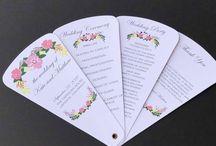 Wedding Petal Fans / Custom Wedding Petal Fans Shop our Etsy Store thefancyenvelope.com