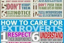 intro/ extraverts