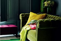 Lounging in luxury / Ideas to revamp our sitting room