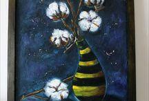 Oil painting by Vladislava K. / Oil painting