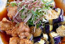 鶏肉と茄子の中華南蛮
