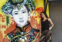 Arte de rua no mundo / Murais, paredes e muita arte registrada pelas minhas lentes em minhas viagens pelo mundo. Arte de rua, murais coloridos, ruas artísticas. By Adriana Lage
