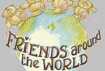 Friends forever bear