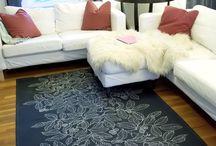 Drop cloth design