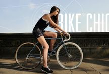 Bike Chic / Burning rubber and calories!