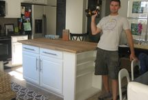 Home kitchen island