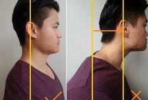 Forward head posture / How to fix a Forward Head Posture