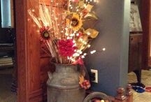 Decorations for the home / by Tracy Cooksey