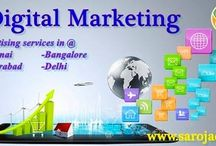 Digital marketing services / Need to advance your websites in more ordinary ways??Our sarojads gives digital marketing services which give you an added favorable position to beat your competitors in pulling in the customers to your site. Sarojads provides optimal ‪#‎Digital‬ ‪#‎Marketing‬ services in Chennai, Hyderabad, Banglore & Delhi Check out full details about Saroj Ad Agency