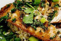 Dinner: Fish / by Kay Hook