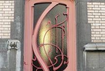 beautiful ,unusual doors