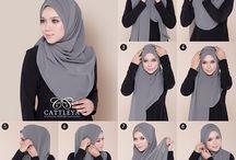 cara hijab